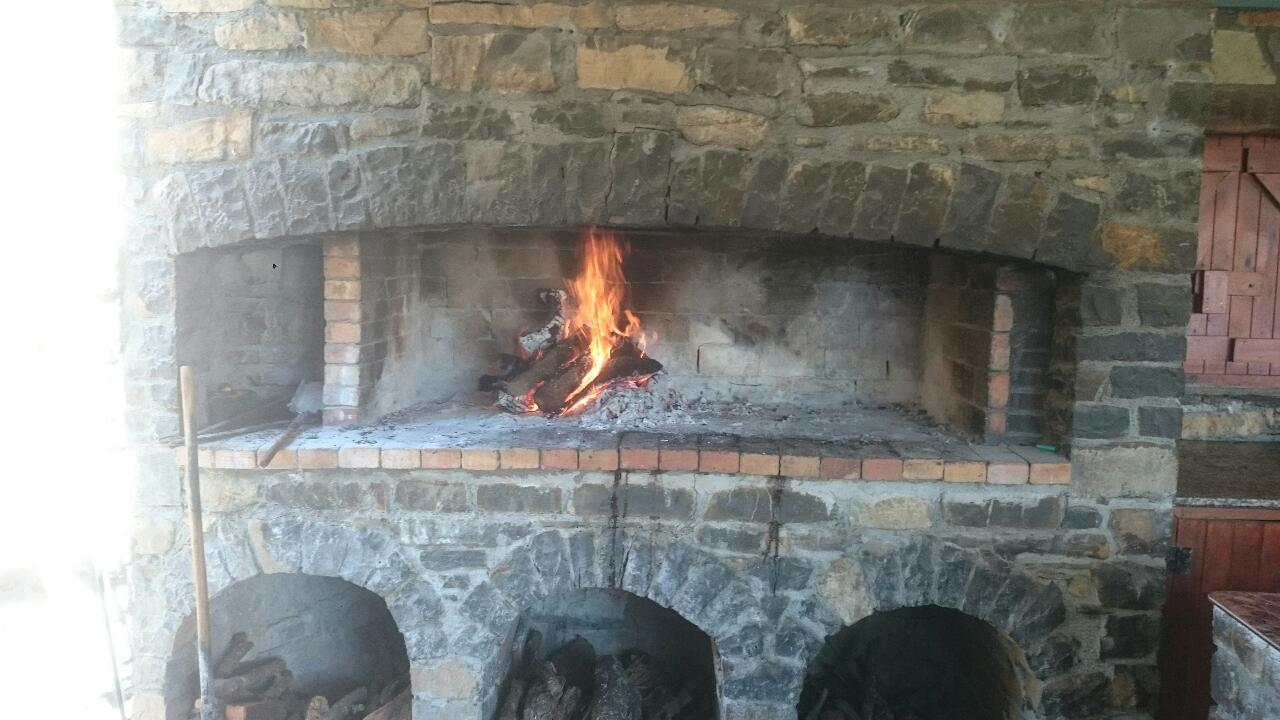 Cuisine au feu de bois