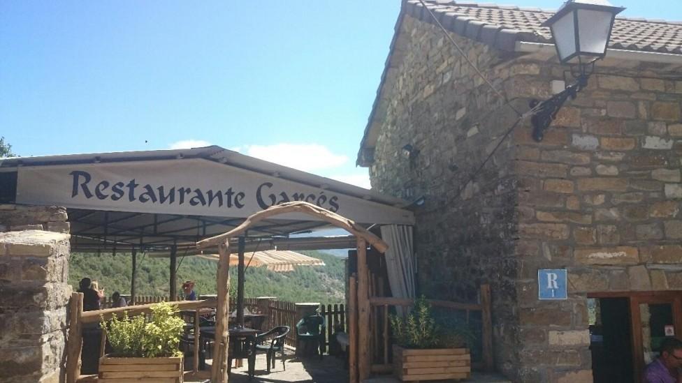 Restaurante Merendero Garcés Ainsa San Vincente