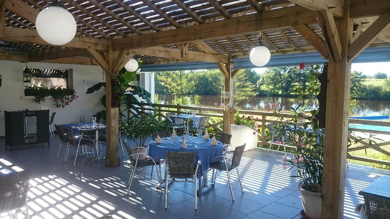 restaurant gastronomique vue lac