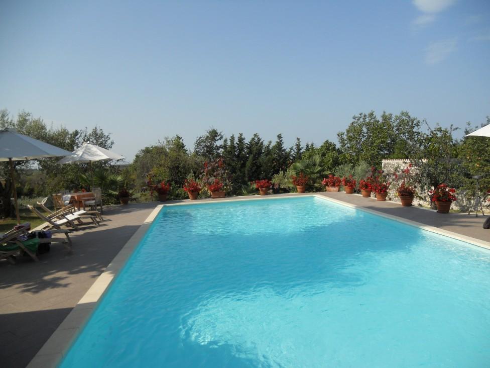 piscine de l'hôtel san rocco