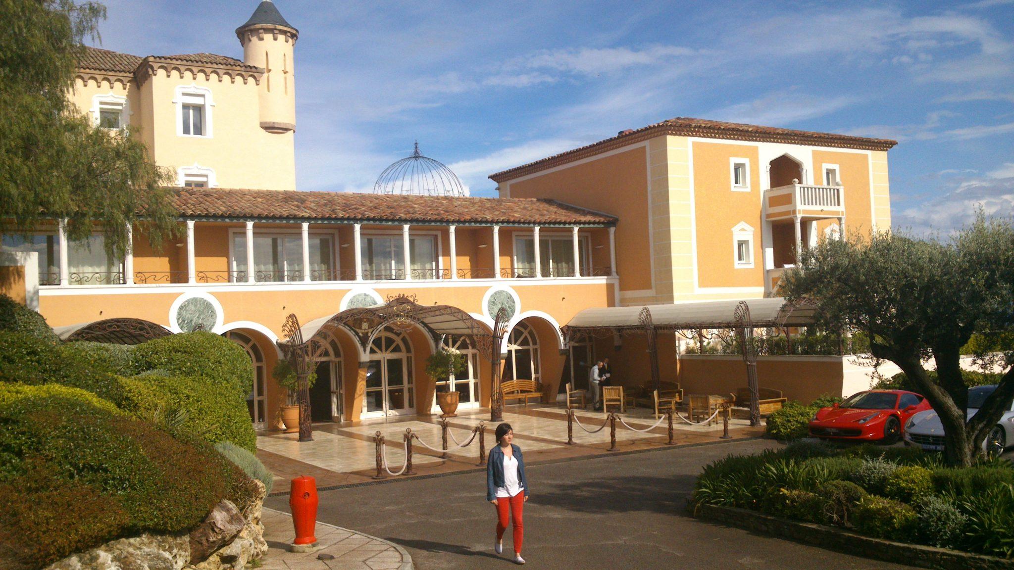 En Terrasse Au Bar Du Palace La Messardi U00e8re St Tropez