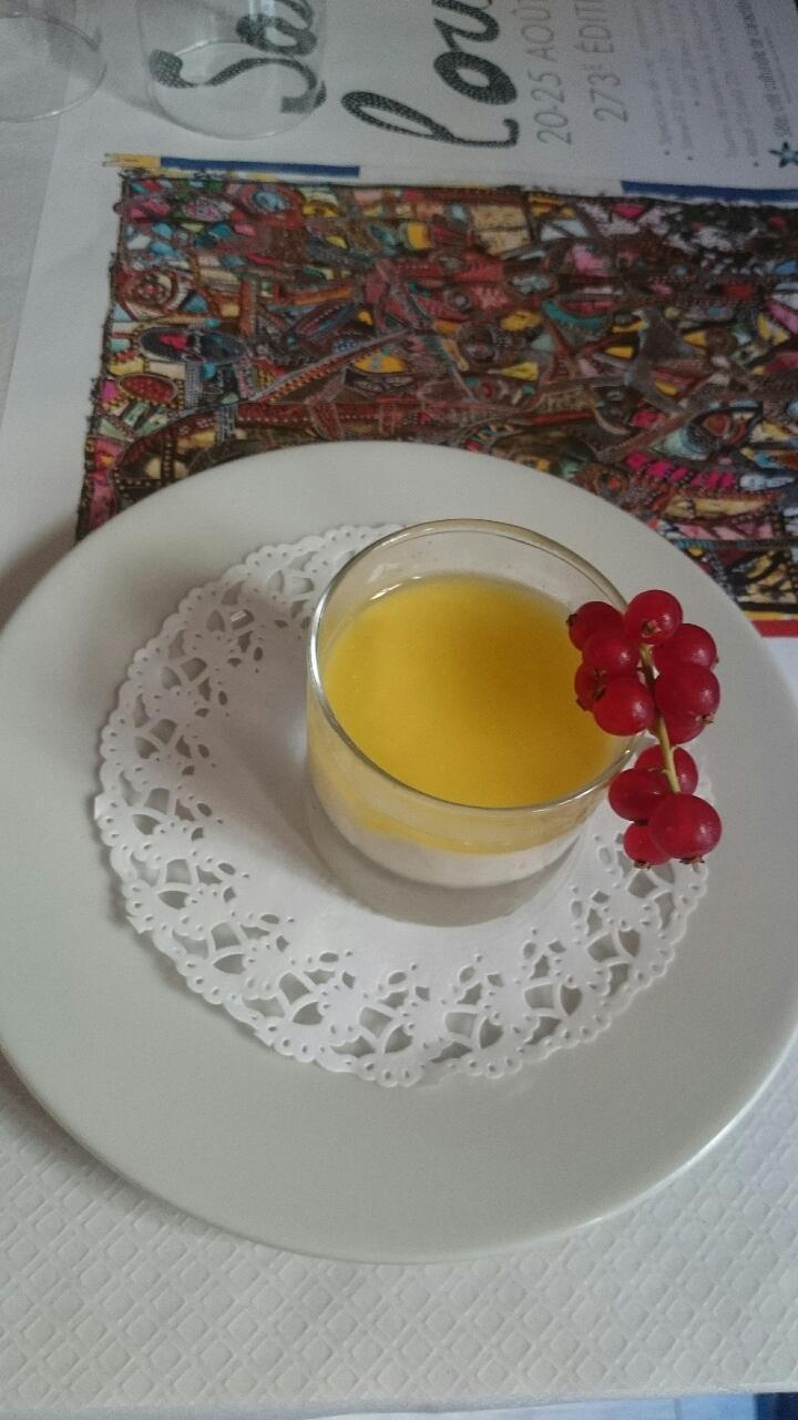 panacotta limoncello