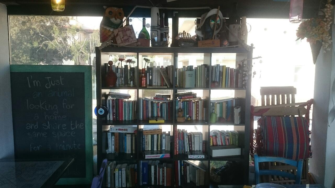 intérieur resto, espace culture et lecture