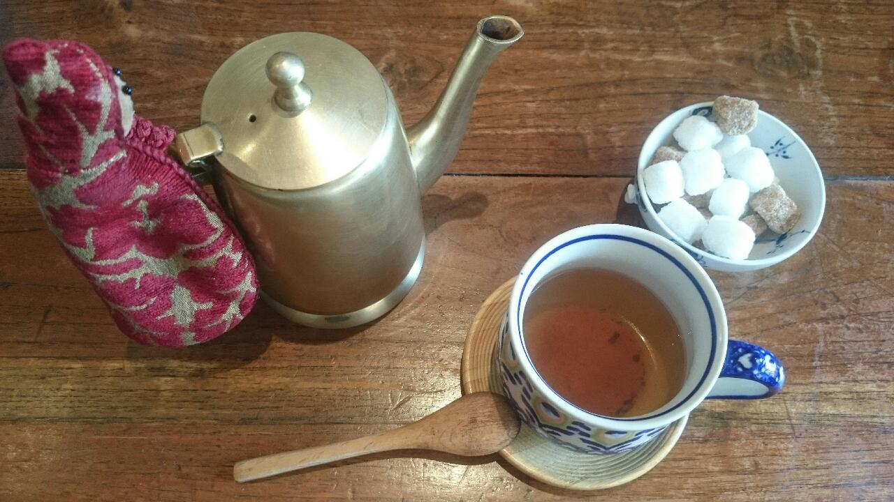 thé vert des riads