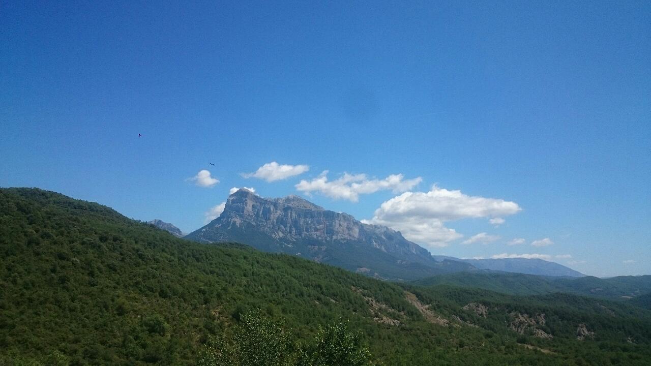 Vue Peña Montañesa