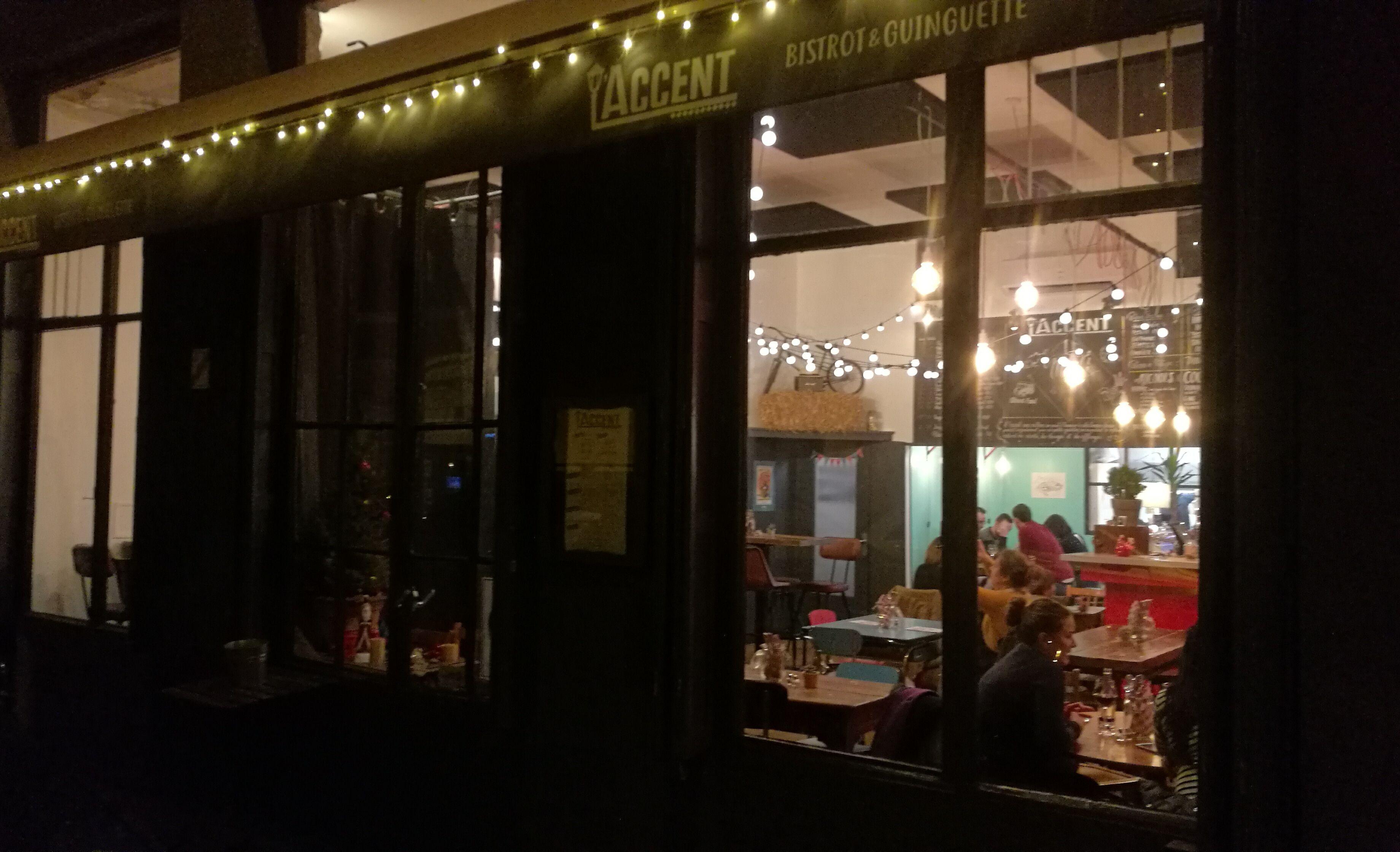 L'Accent restaurant Lyon 6ème arrondissement