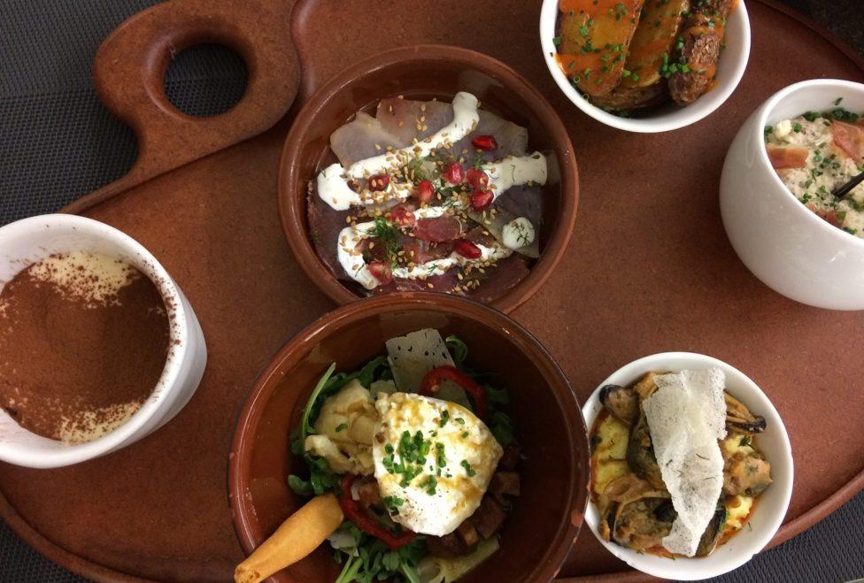 Rationes Salé & Sucré du restaurant Terres Latines