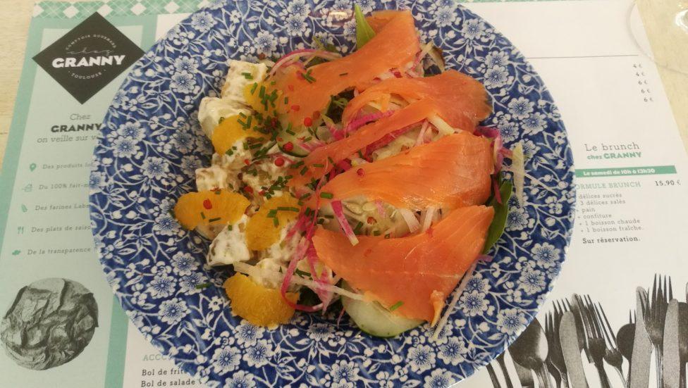 Salade du midi - Restaurant Chez Granny Cornebarrieu