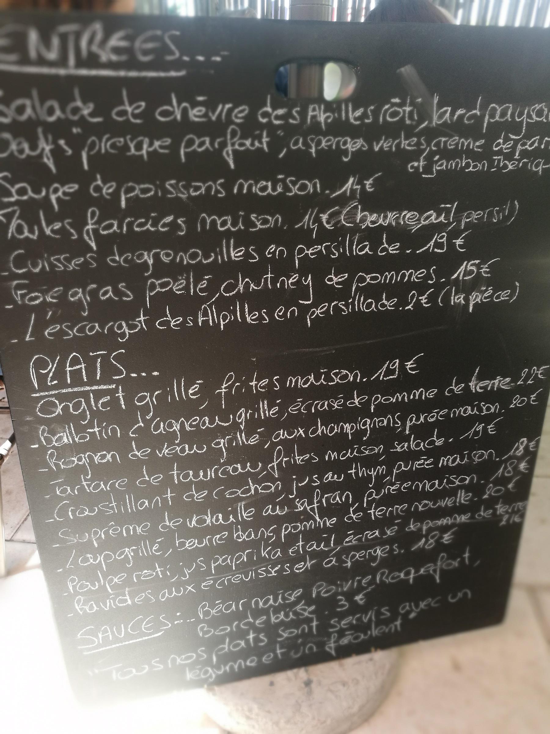 Carte Le Moulin de Sophie - Saint Rémy de Provence