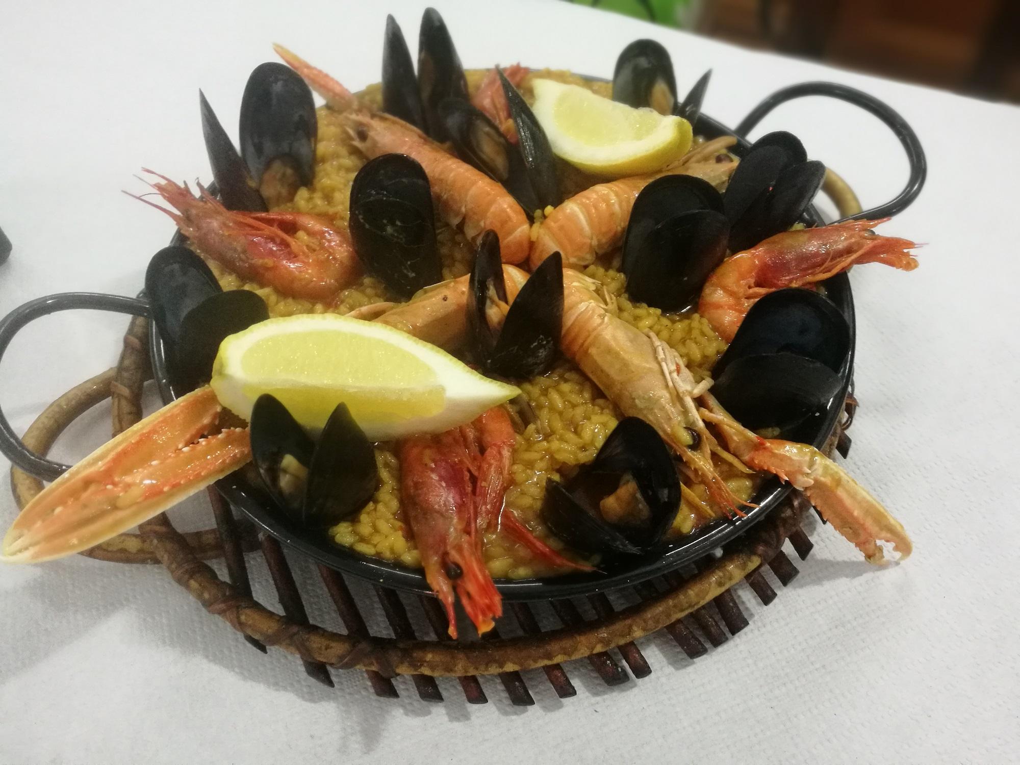 Paella Marisqueria Melchor Badalona