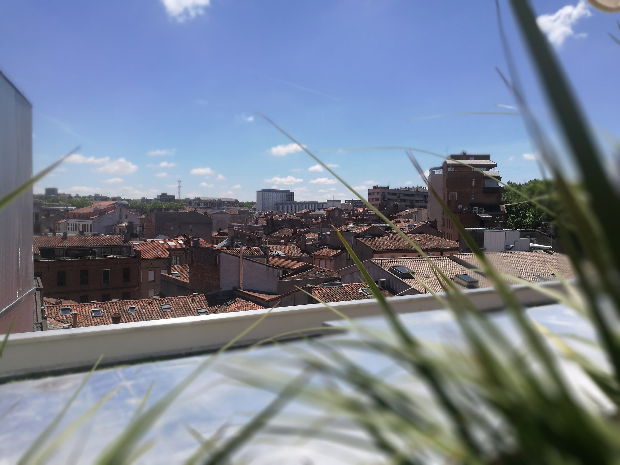 Vue Toulouse Rooftop Mama Shelter