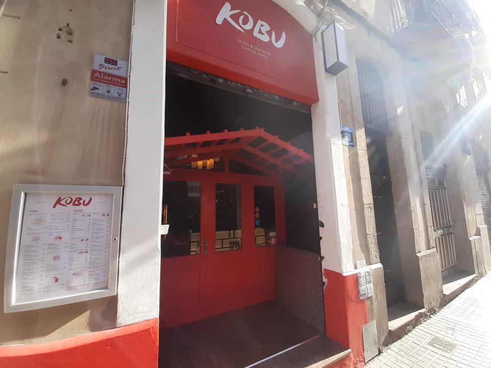 Restaurant japonais Kobu à Barcelone